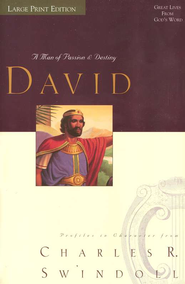 David, Paperback, Large Print   -     By: Charles R. Swindoll