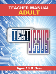 Text Jesus VBS Adult Teacher Manual  -