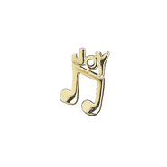Joy Music Note Lapel Pin   -