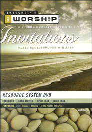 iWorship Resource System DVD: Invitations  -