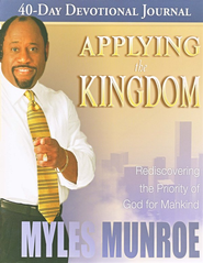 Applying the Kingdom Study Guide   -     By: Myles Munroe