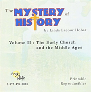 The Mystery of History, Volume 2 Reproducibles on CD-ROM  -