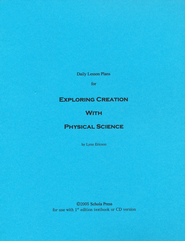 Daily Lesson Plans for Exploring Creation with Physical Science (1st Edition)  -     By: Lynn Ericson