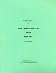 Daily Lesson Plans for Exploring Creation with Biology (1st Edition)  -     By: Lynn Ericson