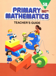 Primary Mathematics Teacher's Guide 5B (Standards Edition)  -