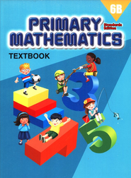 Primary Mathematics Textbook 6B (Standards Edition)   -