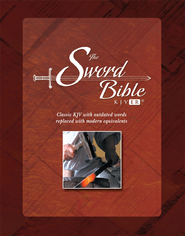 KJV Easy Reader Sword Bible, Personal Size, Hardcover   -