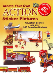 Create Your Own Action Sticker Pictures  -