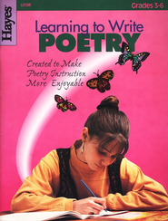 Learning to Write Poetry, Grades 3-6   -