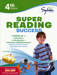 Fourth Grade Super Reading Success (Sylvan Super Workbooks)  -     By: Sylvan Learning