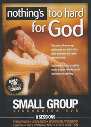 Nothing's Too Hard For God Small Group Discussion DVD  -