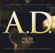A.D. History of the World Mega Conference Audio CDs Set   -