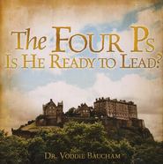 The Four P's: Is He Ready to Lead? Audio CD   -     By: Dr. Voddie Baucham
