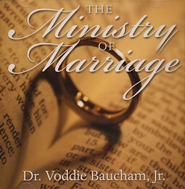 The Ministry of Marriage Audio CD   -     By: Dr. Voddie Baucham