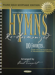 Hymns Re-Harmonized-Piano Solo Keepsake Edition   -