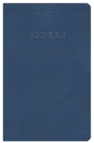 NIV Largeprint, Reference Bible, Navy  -