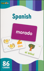 Spanish, Flash Cards  -