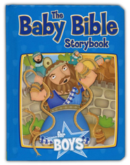 The Baby Bible Storybook for Boys   -