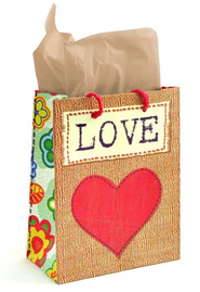 Love Gift Bag, Medium  -