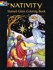 Nativity Stained Glass Coloring Book  -              By: Marty Noble
