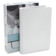 NIV Bride's Bible, Italian Duo-Tone, White  - Imperfectly Imprinted Bibles  -