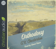 Orthodoxy - audiobook on CD  -     By: G.K. Chesterton