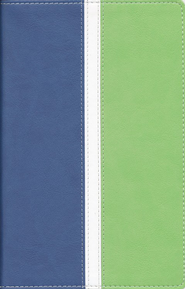 NIV Busy Mom's Bible, Blue/Sea Green Duo-Tone  -