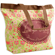 Learn From Yesterday Tote  -