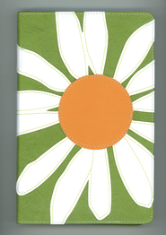 NIV Thinline Bible, Bloom Collection, Daisy Duo-Tone  -