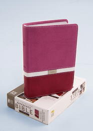 NIV Thinline, Compact, Reference Bible,  Orchid/Razzleberry  -