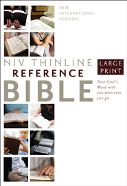 NIV Largeprint, Reference Bible  -
