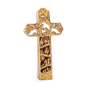 Nativity Tabletop Cross  -