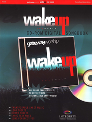 Wake Up the World (CD-ROM Digital Songbook)   -              By: Gateway Worship
