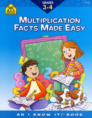Mutiplication Made Easy, Grades 3-4   -
