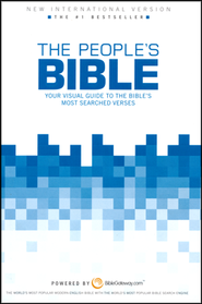 The NIV People's Bible: Your Visual Guide to the   Bible's Most-Searched Verses, Hardcover  -