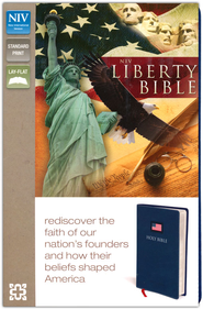 The NIV Liberty Bible Italian Duo-Tone, Blue  -