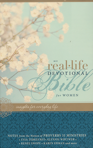 NIV Real-Life Devotional Bible for Women: Insights for Everyday Life, Hardcover, Jacketed Printed  -              By: Lysa TerKeurst