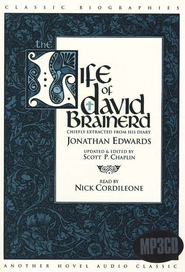 The Life of David Brainerd                       - Audiobook on MP3 CD-ROM  -     By: Jonathan Edwards