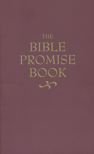The KJV Bible Promise Book--kivar laminated paperback,  burgundy  -