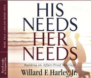 His Needs, Her Needs     - Audiobook on CD  -     Narrated By: Willard F. Harley Jr.     By: Willard Harley Jr.