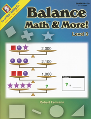 Balance Math & More, Level 3 (Grades 6-12+)   -     By: Robert Femiano