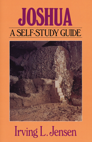 Joshua: Jensen Bible Self-Study Guide Series  -     By: Irving L. Jensen