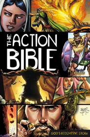 The Action Bible   -              By: Illustrated by Sergio Cariello                   Illustrated By: Sergio Cariello