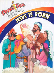 Jesus is Born: Pencil Fun Book, 10 pack  -