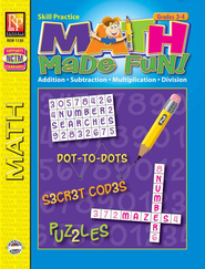 Math Made Fun Grades 3-4   -