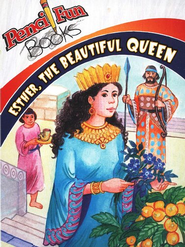 Esther the Beautiful Queen, Pencil Fun Books, 10 Pack   -