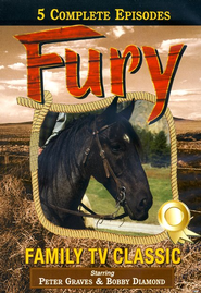 Fury, The Brave Stallion: Volumes 1 & 2, DVD Set   -