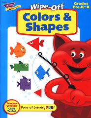 Colors & Shapes Wipe-Off Books  -