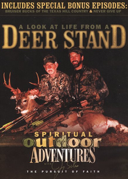 Spiritual Outdoor Adventures: A Look at Life from a Deer Stand, DVD  -              By: Jimmy Sites