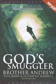 God's Smuggler - Unabridged Audiobook on MP3  -     By: Brother Andrew, John Sherill